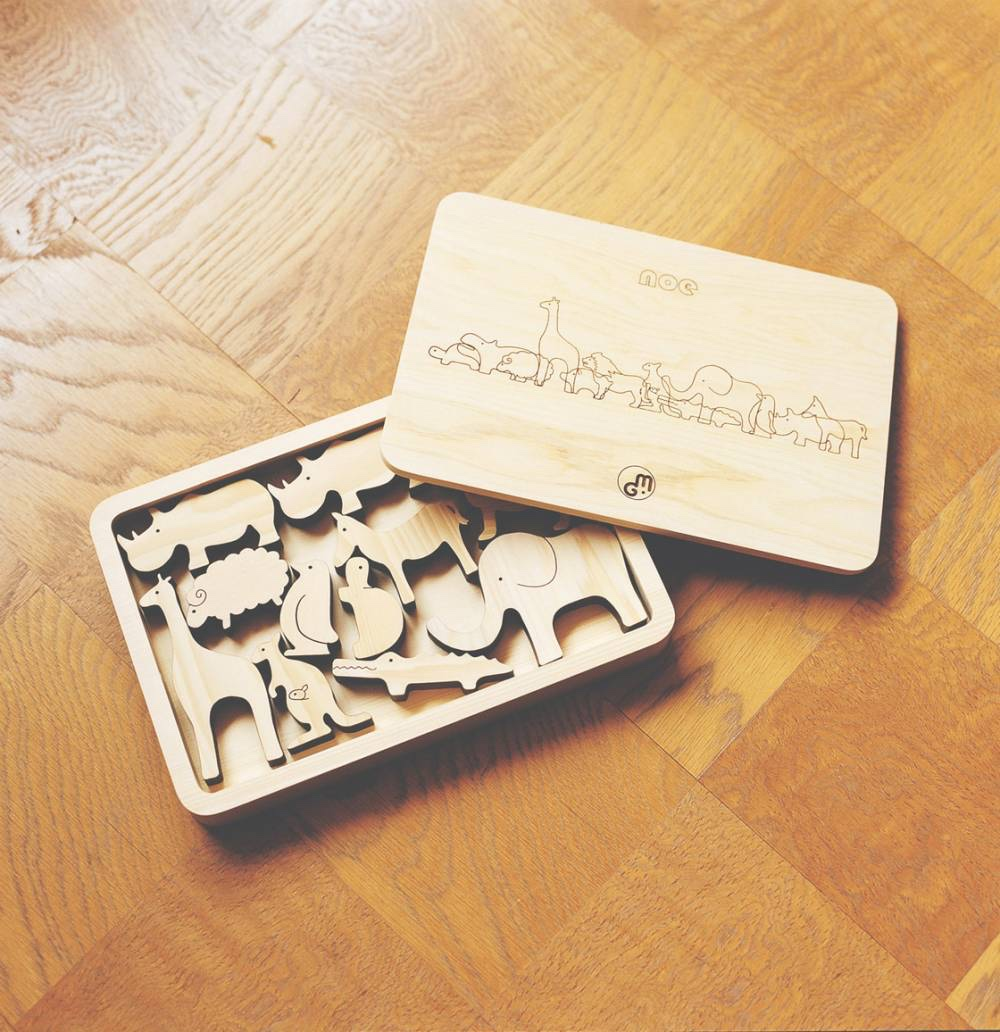 Noe wooden animal toys. Image © Monocle.