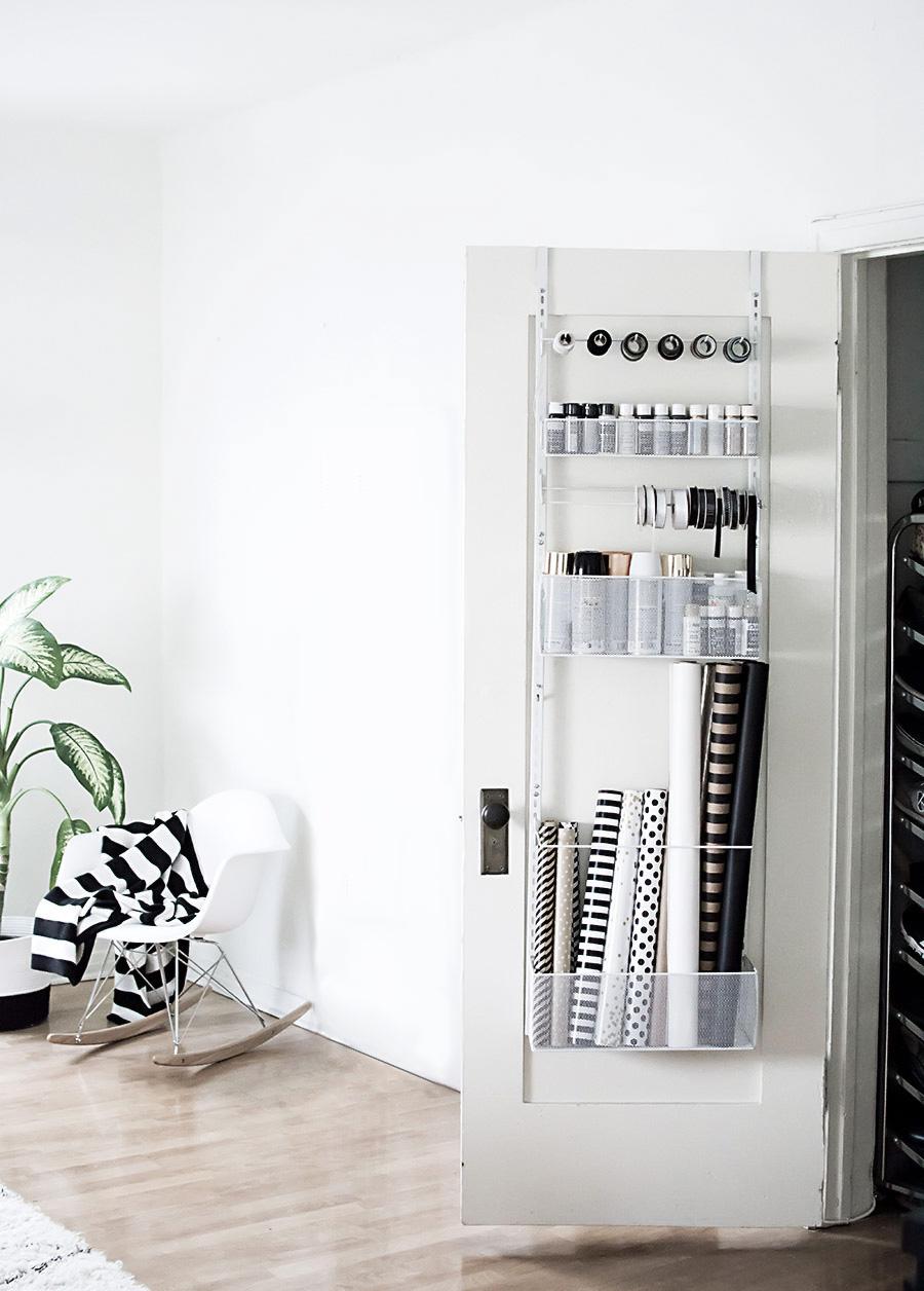 Over-the-door storage