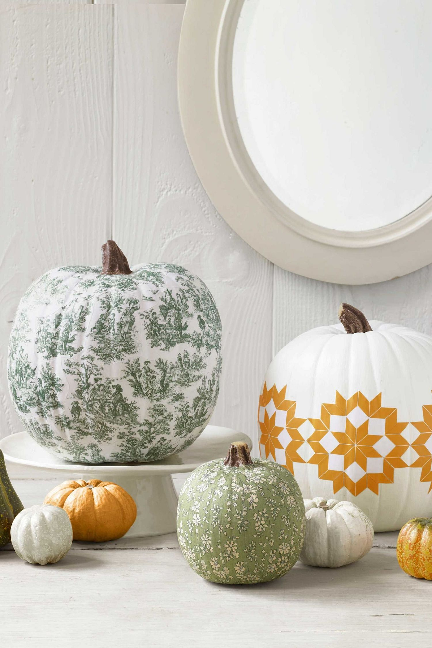 Paint and pattern can turn your pumpkin into an artistic masterpiece