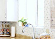 Painted-herringbone-backsplash-from-A-Beautiful-Mess-217x155