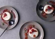 Panna cotta with citrus by Eyeswoon