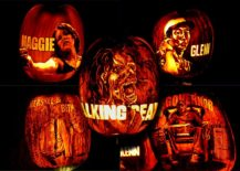 Perfect Pumpkin crafting ideas for those who love Walking Dead
