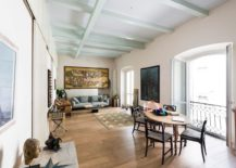 Private apartment in Milan built in 1892 renovated into a modern home