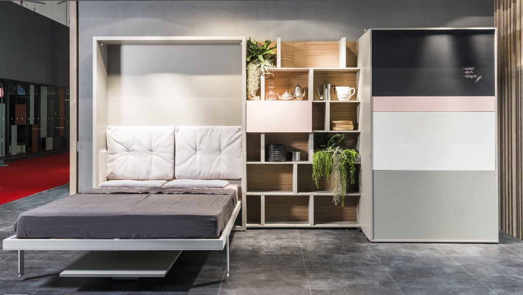 Pull-out bed with modern style