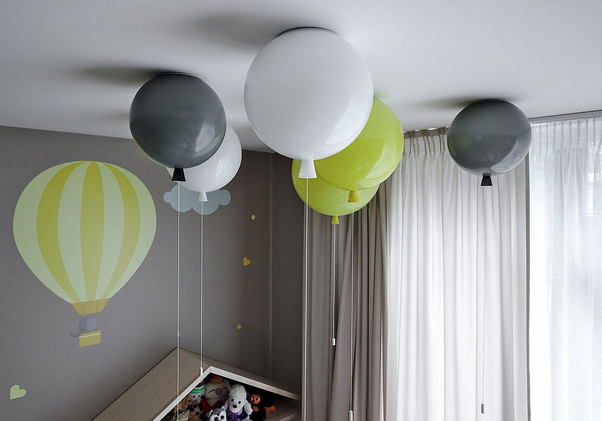 Quirky and beautiful decorating idea for the nursery