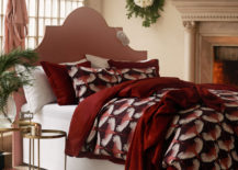 Rosy bedding in a room by HM Home 217x155 A Winter Decor Preview