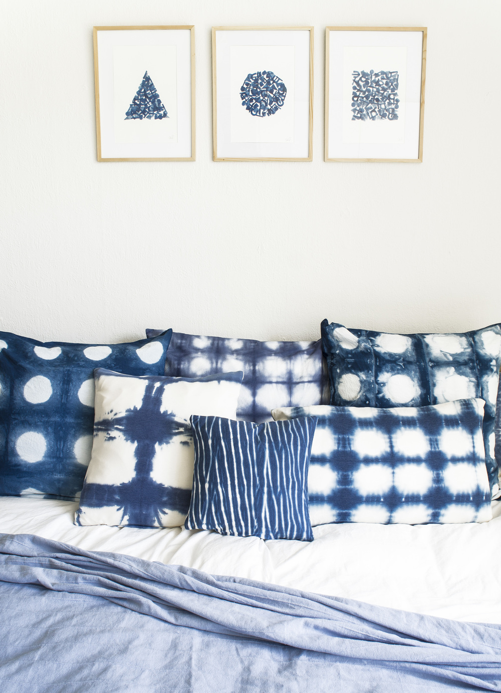 Shibori DIY from Leif Oh Leif