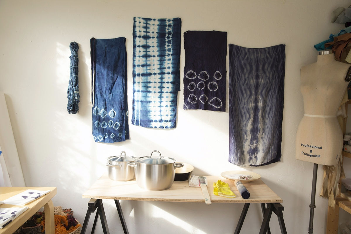 Shibori DIY tutorial from Common Thread