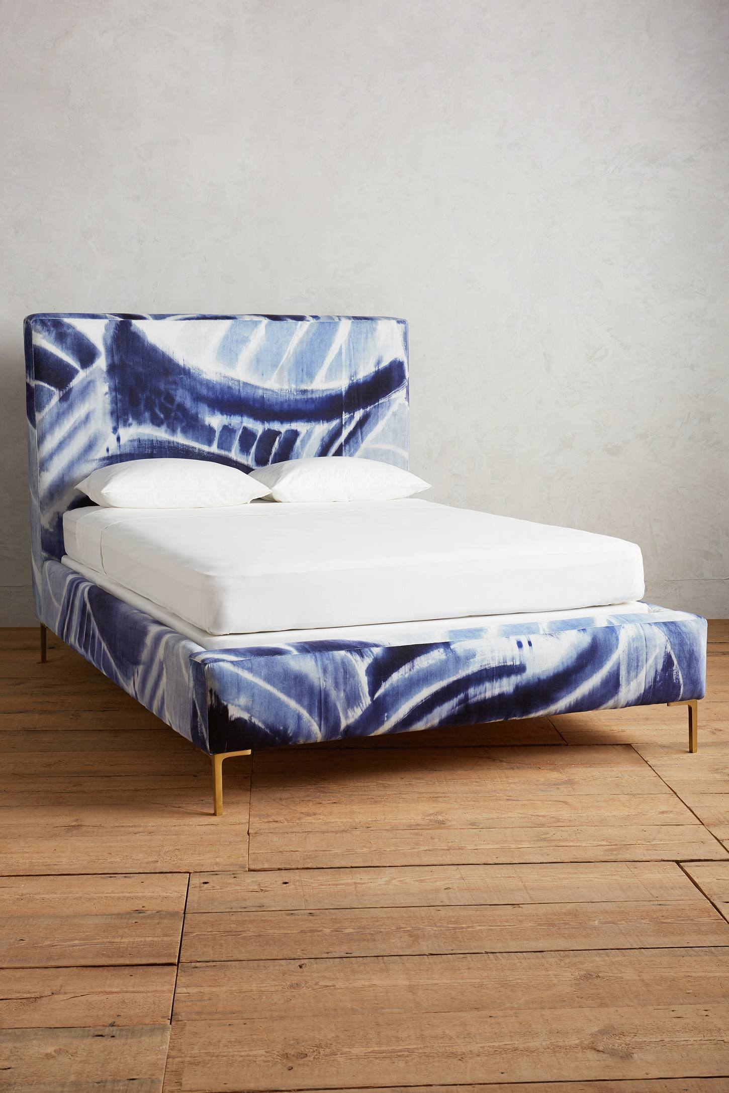 Shibori-Printed Edlyn Bed from Anthropologie