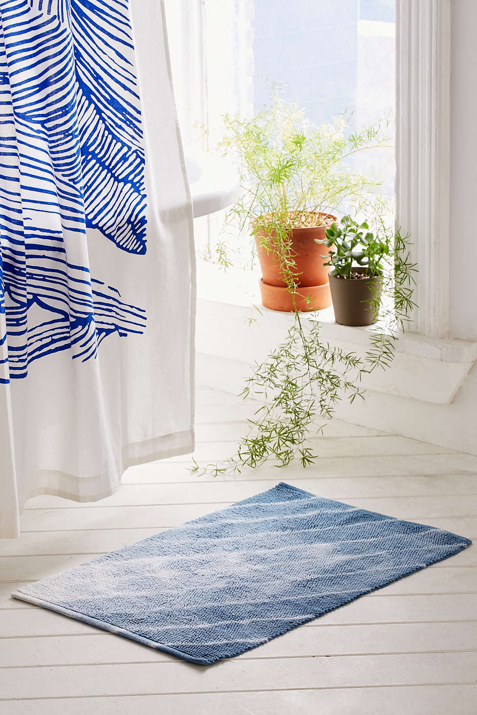 Shibori bath mat from Urban Outfitters