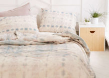 Shibori duvet cover from Urban Outfitters