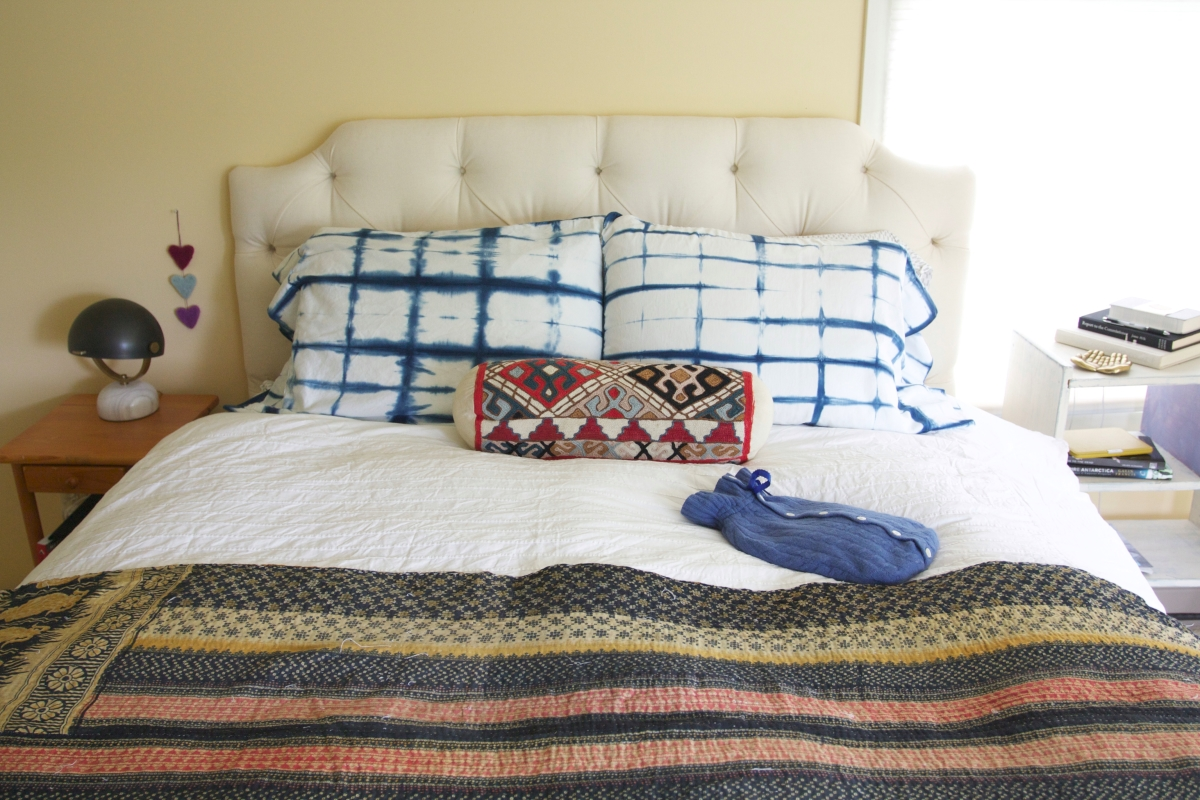 Shibori pillowcase DIY from Red House West