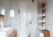 Small-glass-shower-area-of-the-modern-bathroom-217x155
