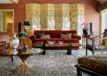 Stunning-modern-Asian-living-room-with-a-red-sofa-and-a-gorgeous-screen-217x155