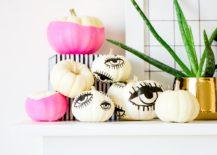 Tattooed pumpkins from Proper