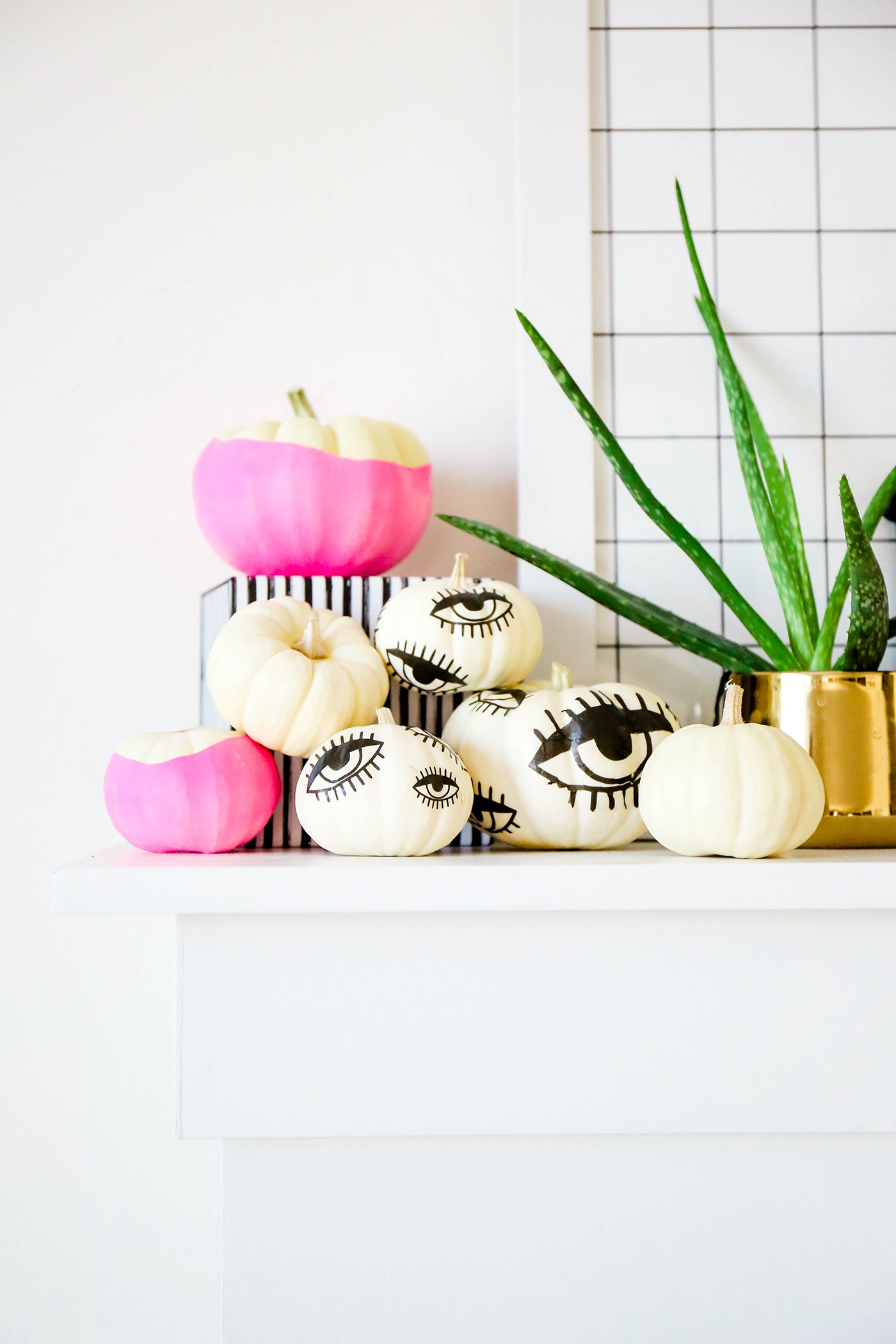Tattooed pumpkins from Proper
