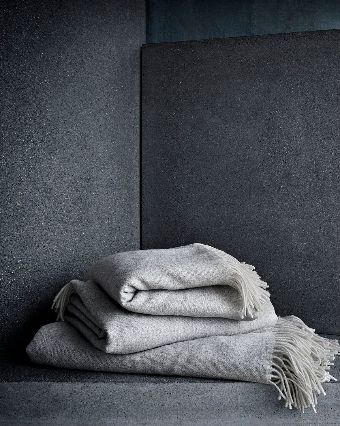 The new cosy throw from Fritz Hansen.
