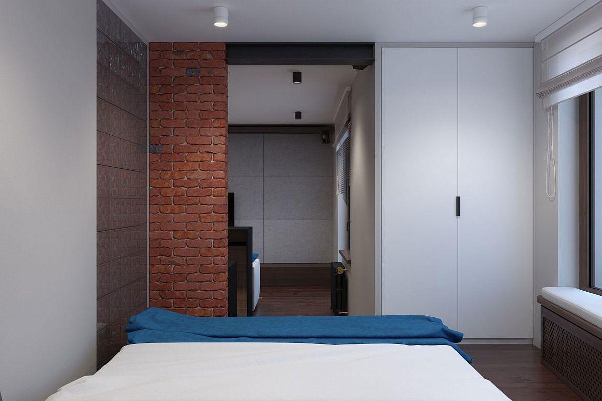 Tiny bedroom design for the modern bachelor pad