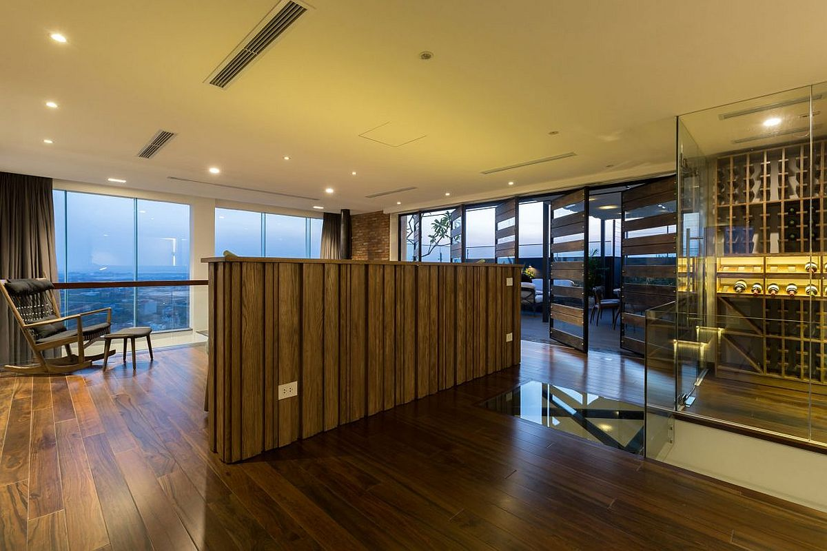 Top level of Penthouse Ecopark