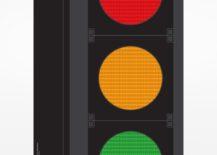 Traffic Light Screenprint
