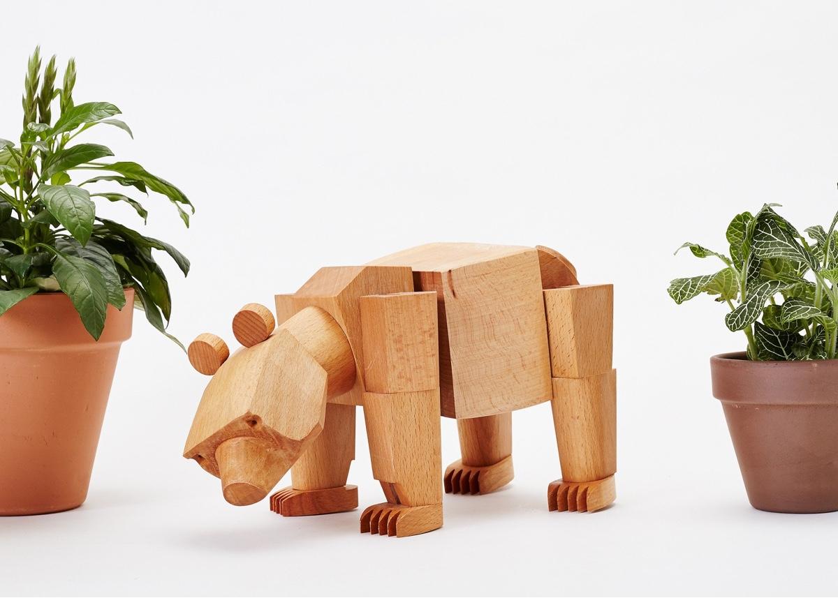 Ursa the bear.