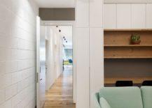 White offers a relaxing backdrop inside the Tel Aviv home