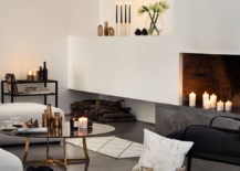 Winter white living room from H&M Home