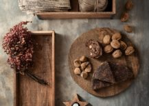 Wooden accessories from H&M Home