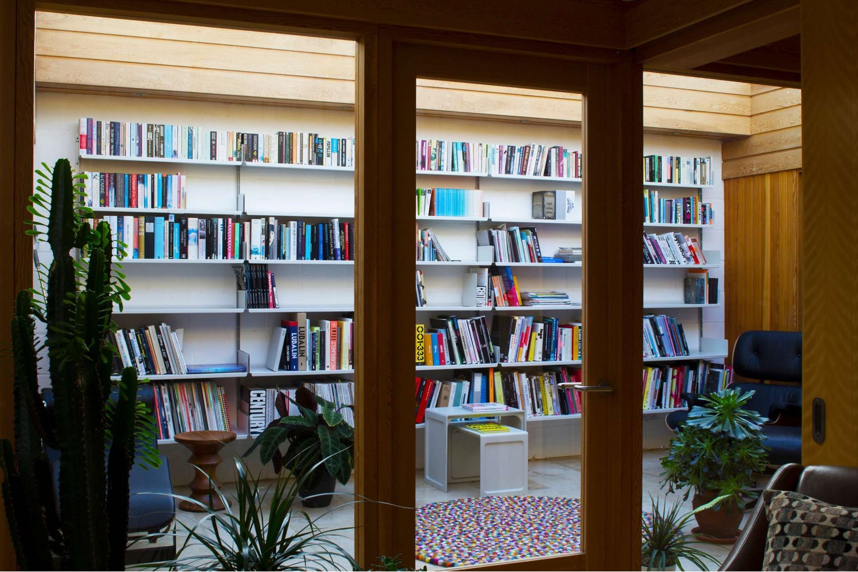 606 as a book shelf.