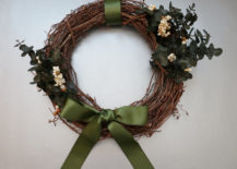 A DIY holiday wreath 217x155 An Earthy, Elegant DIY Holiday Wreath