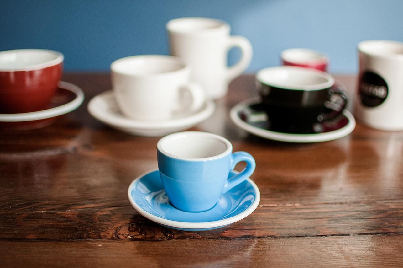 Acme & Co. coffee cups. Image© 2009-2016Sprudge.com™.