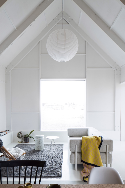A cosy corner in a home designed by Björn Förstberg,co-founder of architectural studioFörstberg Ling.Photo byMarkus Linderoth via Dezeen.