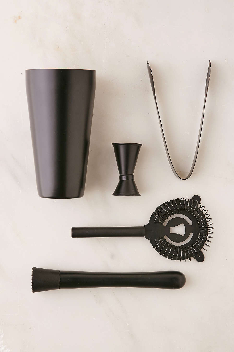 Black cocktail set from Urban Outfitters