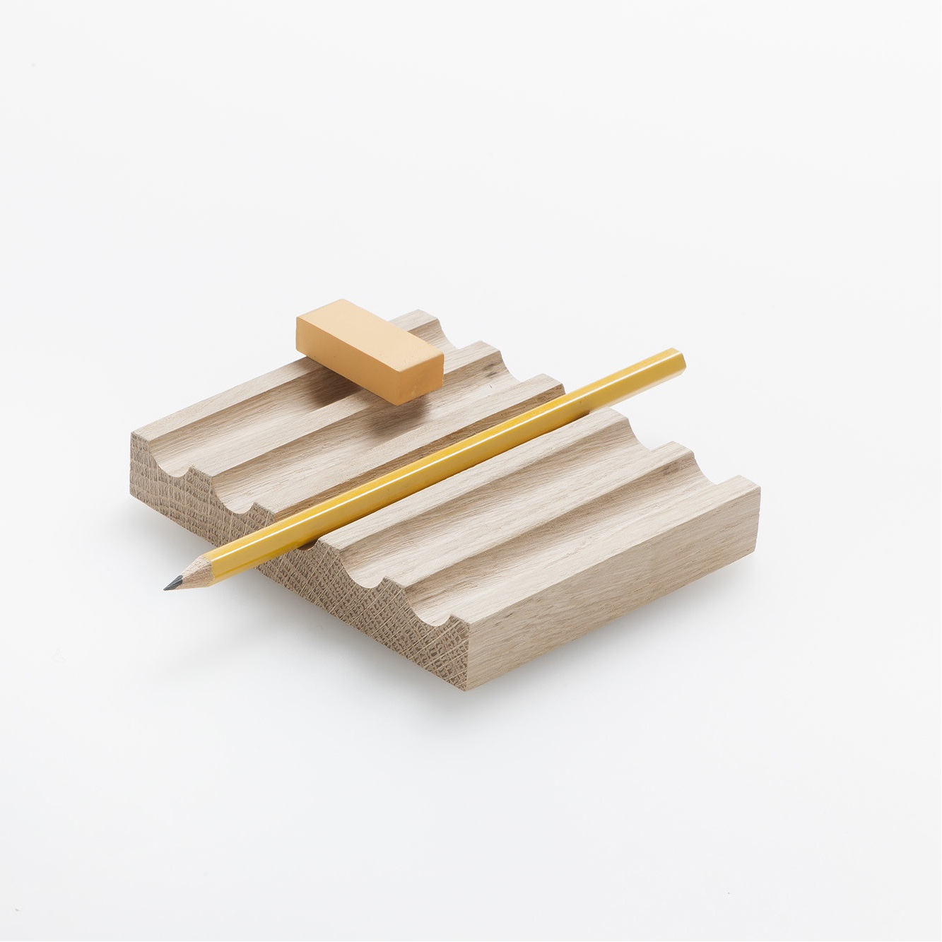 Blocchi made from a solid piece of American Oak.