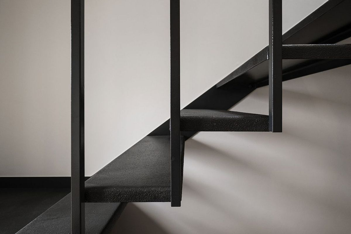 Closer look at the new stairway inside the Luxembourg House
