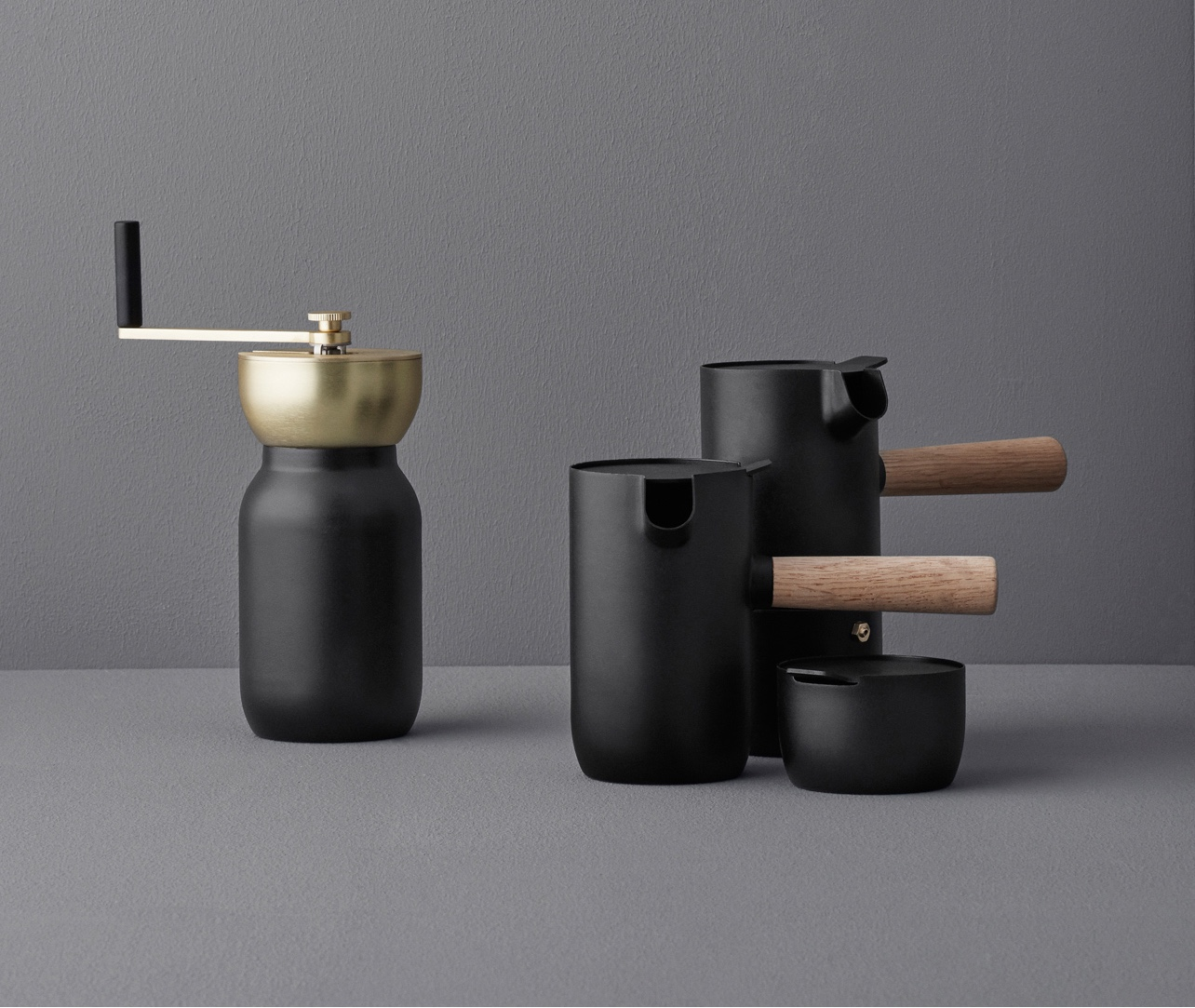 Collar coffee set