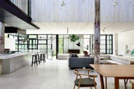 Old Brick Warehouse in Melbourne Finds New Life as a Bright Modern Loft
