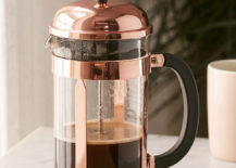 Copper French press from Urban Outfitters 217x155 The Best Kitchen Gadgets for Fall and Winter