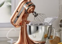 Copper kitchen mixer from Crate & Barrel