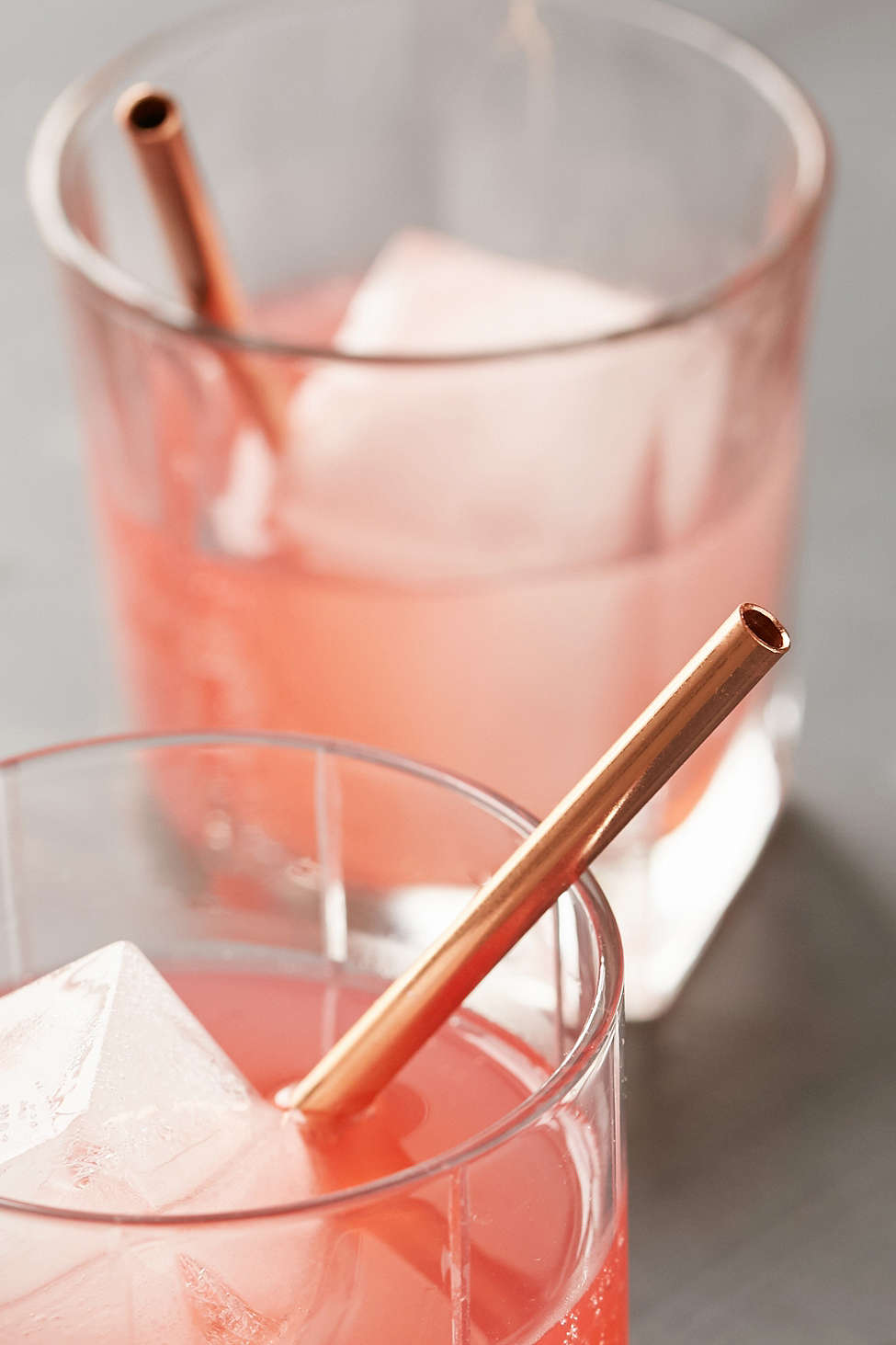 Copper-plated straws from Urban Outfitters