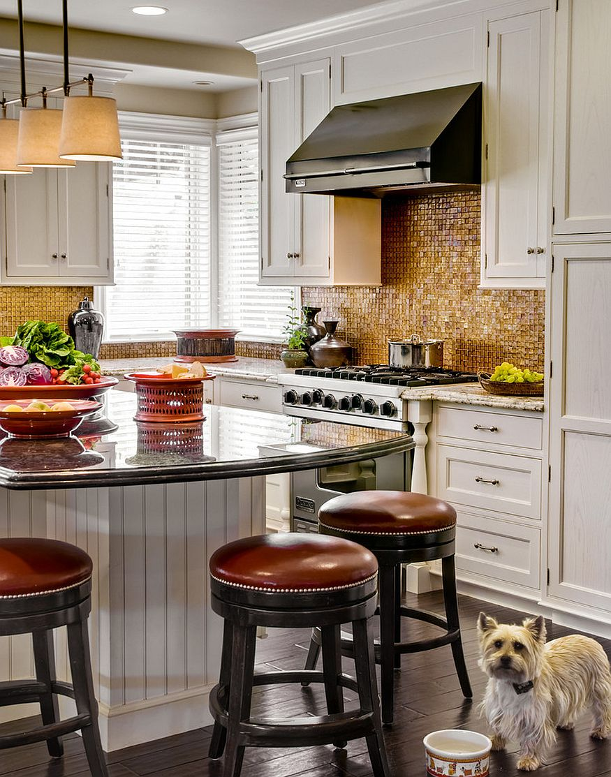 Copper Backsplash Kitchen Design Ideas