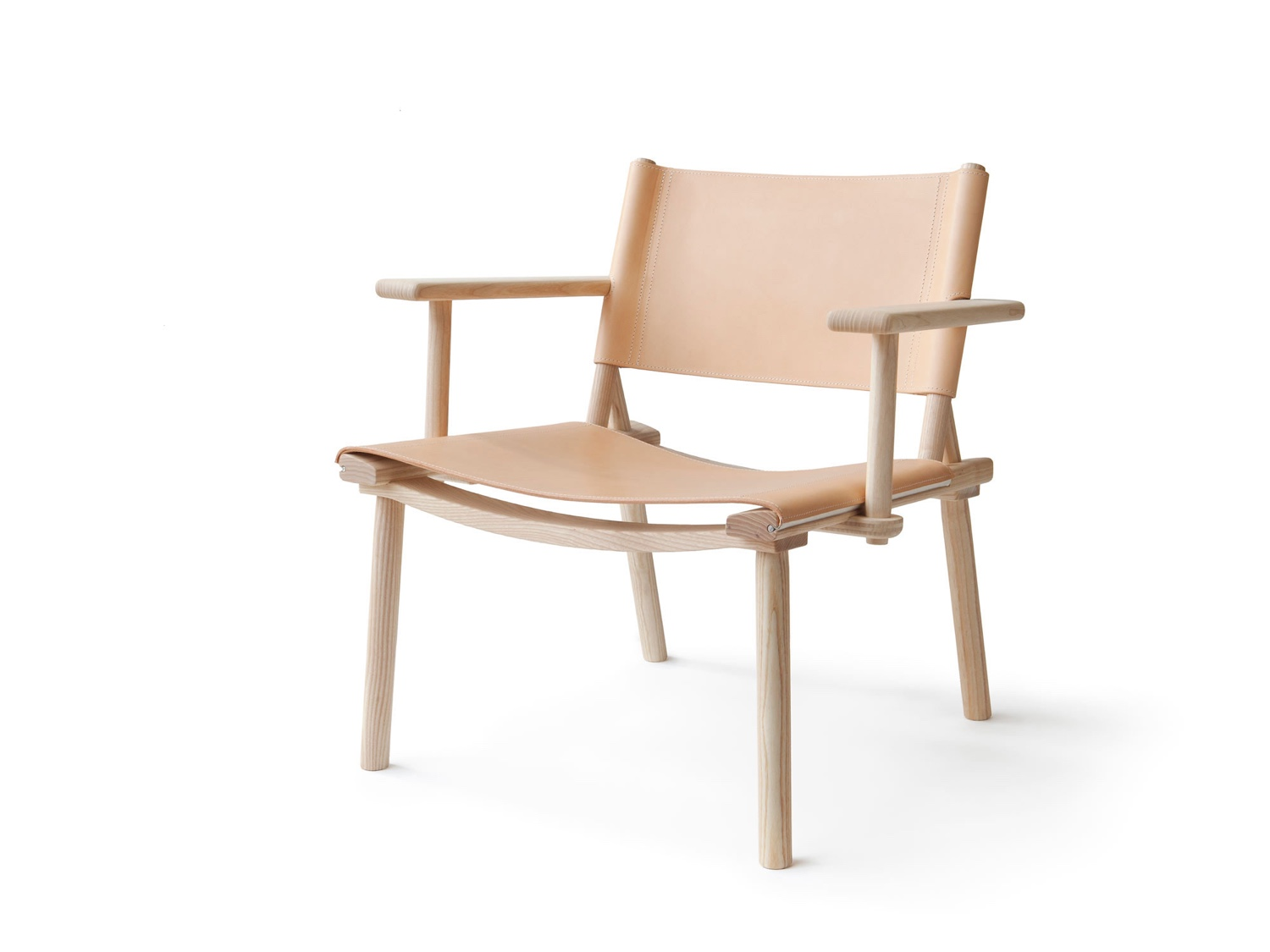 December Armchair (2016). Jasper Morrison and Japanese designer Wataru Kumano designed the December armchair for Nikari, a Finnish manufacturer of sustainable wood design products.