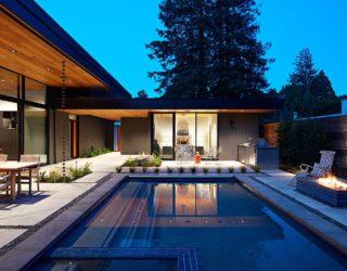Glass Wall House: Custom Design Meets Eichler-Inspired, Modern Flair