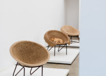 Modern chairs by Domingos Totora