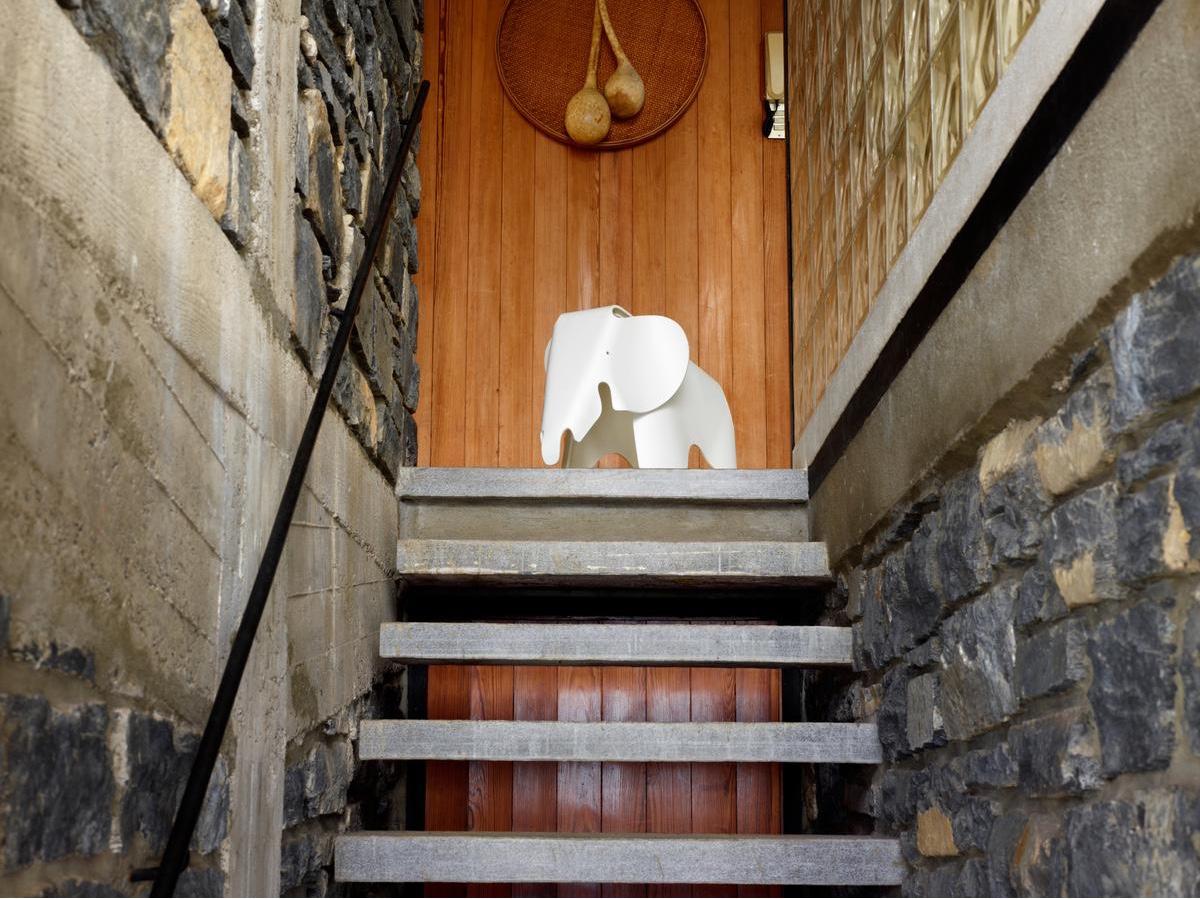 Eames Elephant in white.