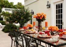 Fabulous outdoor dining idea for an unforgettable Thanksgiving