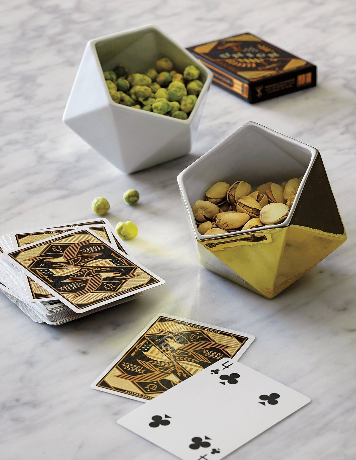 Faceted bowls from CB2