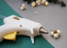 Have a glue gun at the ready