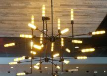 Industrial-style light fixture