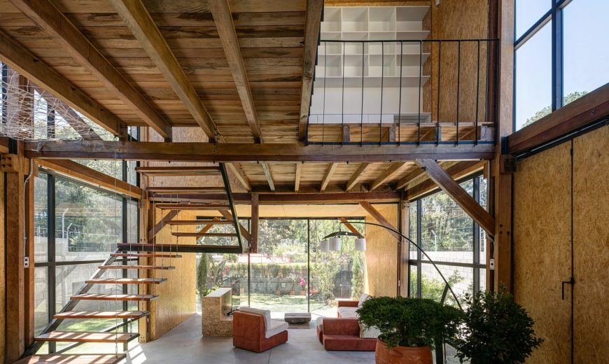 Multi-Generational Family House Promotes a Healthy Lifestyle